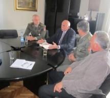 Посета представника Министарства одбране Горњем Милановцу